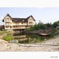 База отдыха, гостиница, отель, 1500м.кв. 48сот. с озером, в Конча Заспе