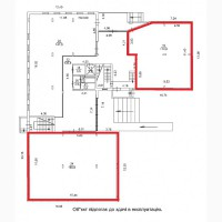 БЕЗ %. Аренда помещений от 112-180 м2, 1 этаж, м. Дарница
