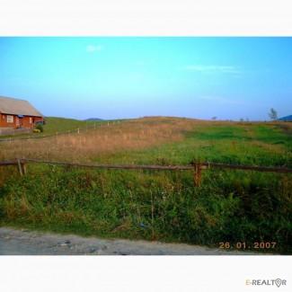 Земельна ділянка під забудову в Карпатах Земельный участок под строительство