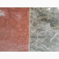 Цвет мрамора отражает историю образования камня