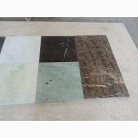 Сиденье для унитаза бирюзовый мрамор