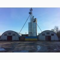 Продается зерносушильный комплекс с зернохранилищем в селе Рудовка