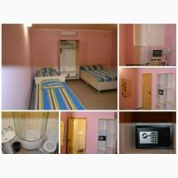 Номера (комната, кухня, сан.узел - в каждом) для отдыха в Крыму
