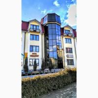Готель (діючий) у центрі курортного міста Трускавець, S-1135кв.м. (12 номерів)