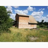 Продаю большой дом 120кв.м, новый дом, без внутренних работ Городище, Черкасская обл