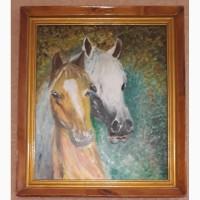 Продам картину лошади