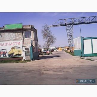 Подам промышленно-торговую базу площадью 3, 3га в г.Запорожье