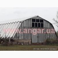 Ангар 12х29 шатровый дюралюминиевый демонтированный
