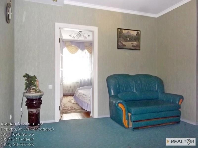 Фото 8. Аренда уютной 3-комнатной, Виноградарь