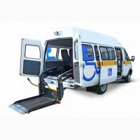 Переоборудование автомобилей под социальное такси