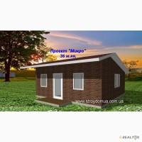 Дачный дом по канадской технологии из сип панелей от застройщика Харьков