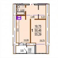 Продам 1 комнатную квартиру в Новострое ЖК Шекспира