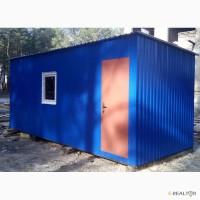 Вагончик 6х2.4 (м) синего цвета
