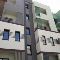 Квартира-студия с большим балконом в новом доме на Бочарова