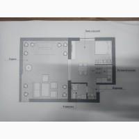 Продам однокомнатную квартиру студию с летней террасой от застройщика. Метро Лесная