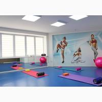 Спортивный зал для групповых занятий в ГК Турист