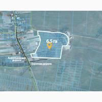 Продам ділянку 6, 5 га під садівництво в с.Озера