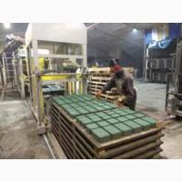 Продам завод тротуарной плитки и бетонных изделий для строительства