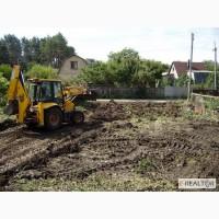 Расчистка территории под строительство